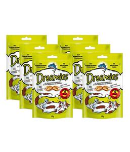 Dreamies® Thunfisch, Katzensnack, 6x60 g