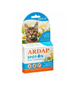 Quiko Ardap Spot On für Katzen bis 4 kg, 3x0,4 ml