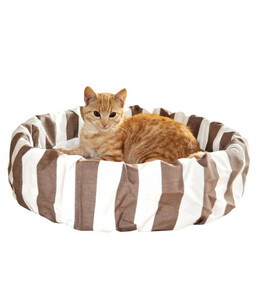 Silvio Design Schlafinsel mit Streifen, Katzenbett
