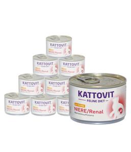Kattovit Niere/Renal mit Huhn, Nassfutter, 12 x 175g