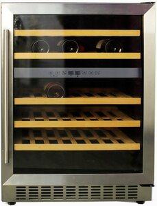 Hanseatic Weinkühlschrank JCF-145S, für 46 Standardflaschen á 0,75l,unterbaufähig