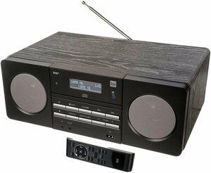 Dual »DAB 410« Microanlage (Digitalradio (DAB), FM-Tuner mit RDS, 10 W, CD-Player)