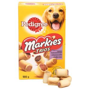 Pedigree Markies Trios mit Huhn, Lamm und Markknochen