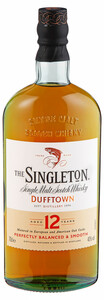 Singleton Single Malt Scotch Whisky of Dufftown, 12y