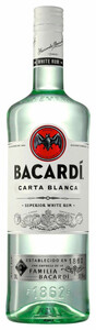 Bacardi Carta Blanca Rum - 3 L