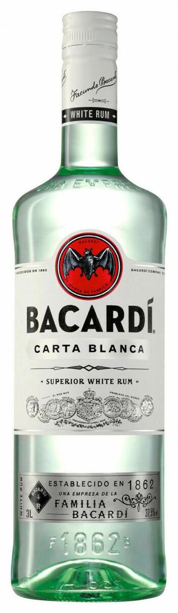Bild 1 von Bacardi Carta Blanca Rum - 3 L