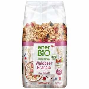 enerBiO Waldbeer Granola 6.98 EUR/1 kg