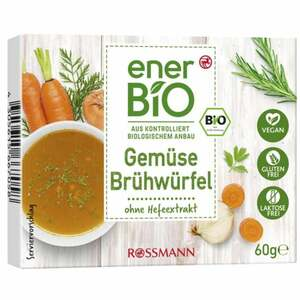 enerBiO Gemüse Brühwürfel 1.15 EUR/100 g