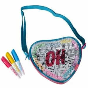 Color Me Mine - Swap Heart Bag mit Wendepailletten
