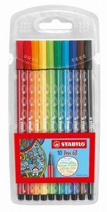 STABILO Pen 68 - 10 Fasermaler