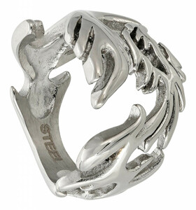 Ring - Silver Dragon