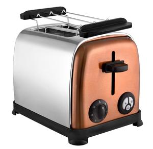 Kalorik 2-Scheiben Edelstahltoaster TKG TO 1050 im eleganten Copper-Look
