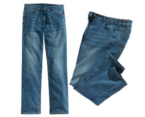 blue motion + Stretchhose, große Mode