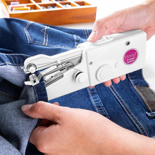 Starlyf Fast Sew Mini-Nähmaschinen-Set
