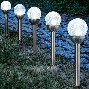 EZSolar LED-Solar-Leuchten 5er