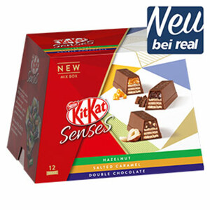 KitKat Senses versch. Sorten, jede 120-g-Packung