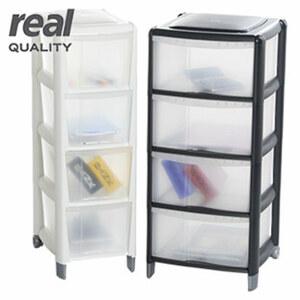 Schubladenbox - in Weiß oder Anthrazit - Maße: ca. H 86 x B 28 x T 39 cm, - Maße: ca. H 86 x B 39 x T 38 cm 29,95 €