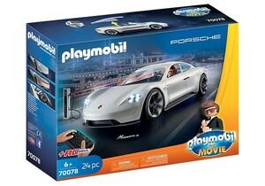 PLAYMOBIL® 70078 - The Movie - Rex Dashers Porsche, Mission E - mit Fernsteuerung