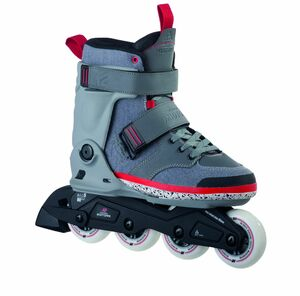 K2 Inline Skates Midtown M Grau für Herren, Größe: 43,5