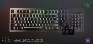 RAZER Huntsman Opto-Mechanical Keyboard (RZ03-02520400-R3G1)