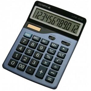 Olympia LCD 5112. Formfaktor: Desktop, Typ: Einfacher Taschenrechner. Stellen: 12 Ziffern, Textzeilen: 1 Zeilen