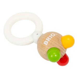 BRIO Beißring Ball, Greifling, Kauring, Greifring, Zahnen, Babyspielzeug, Holz Spielzeug, 30441