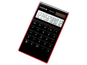 Olympia LCD 3112 - Desktop-Taschenrechner - 12 Stellen - Solarpanel, Batterie - Schwarz