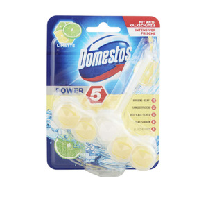 Domestos Power 5 WC Stein Limette 55 g
