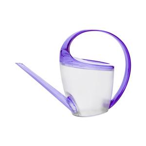 """Transparent-violette Gießkanne """"Loop"""""""
