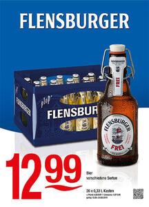 Flensburger Bier verschiedene Sorten