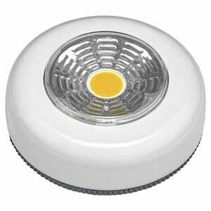 IDEENWELT 2er Set LED-Touch-Lights rund, weiß