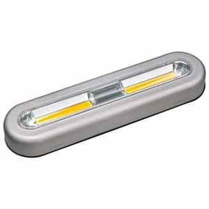 IDEENWELT 2er Set LED-Touch-Lights länglich, silber