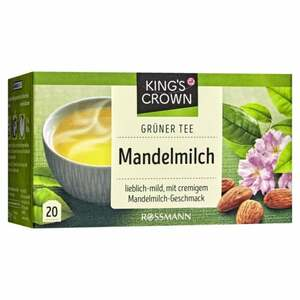 King´s Crown Grüner Tee Mandelmilch 2.83 EUR/100 g
