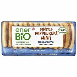 enerBiO Dinkel Doppelkeks Mini Kakaocreme 0.79 EUR/100 g