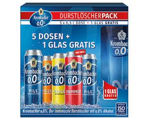 Krombacher Durstlöscher mit 0,0 % Alkohol