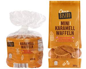 Choco BISTRO Karamellwaffeln oder Mini- Karamellwaffeln