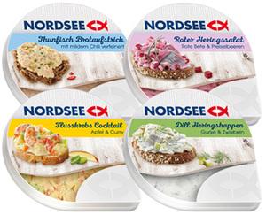 NORDSEE Salate und Creme