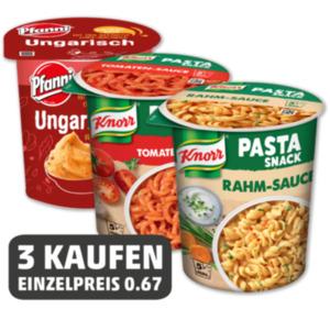 Einzelpreis KNORR Pasta-Snack