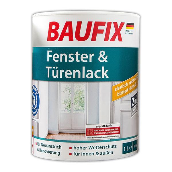 Baufix Fenster & Türenlack 2in1