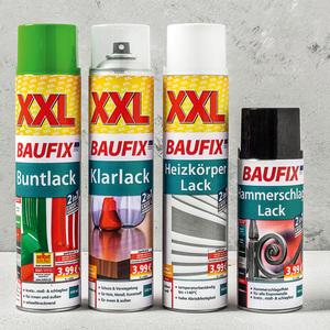 Baufix XXL-Sprühlacke