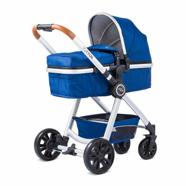knorr-baby Kombikinderwagen For You blau