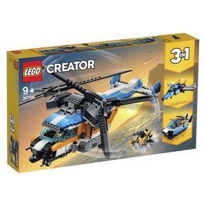 LEGO Creator 31096 Doppelrotorhubschrauber