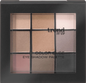 trend IT UP Lidschattenpalette Color Cube Eye Shadow Palette 010