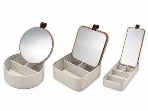 MIOMARE® Schmuckaufbewahrung mit Spiegel