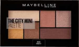 Maybelline New York Lidschatten City Mini Palette 600 Party