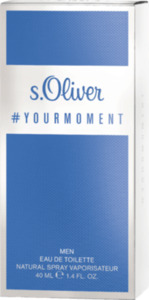 s.Oliver Eau de Toilette your moment men