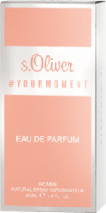 s.Oliver Eau de Parfum your moment women