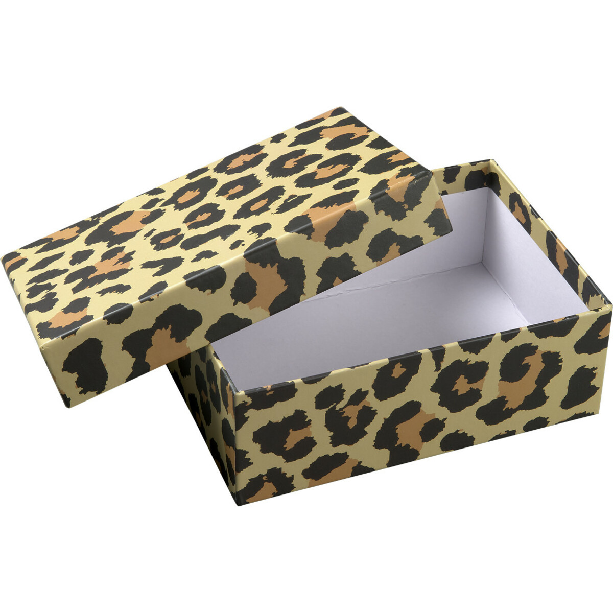 Bild 2 von Mittelgroße Geschenkbox mit Leoparden-Muster