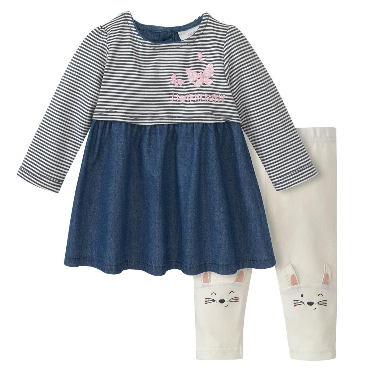 Bild 1 von Newborn Kleid und Leggings im Set