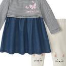 Bild 2 von Newborn Kleid und Leggings im Set